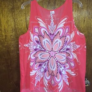 Xl gorgeous red summer top Elle brand 🌹❤️🌹